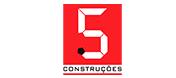 5 Construções | Sua construtora em João Pessoa Logo